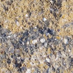gebrochene bruchraue nuancierte impraegnierte Naturstein Beton Oberflaeche in gebrochene bruchraue nuancierte Naturstein Beton Oberflaeche in Muschel Kalk