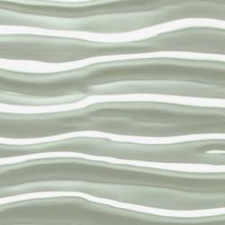 Matte Sichtbeton Oberflaeche im Wellen 3D Effekt Profil fuer Fasadenverkleidung und Waende in weiss