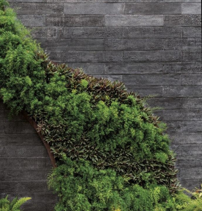 Wandfliese aus Beton - Architekturbeton von GODELMANN