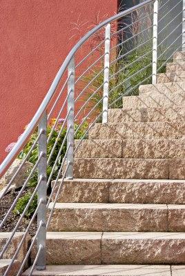 Nahaufnahme Treppenstufe Blockstufe KLASSIKLINE von GODELMANN