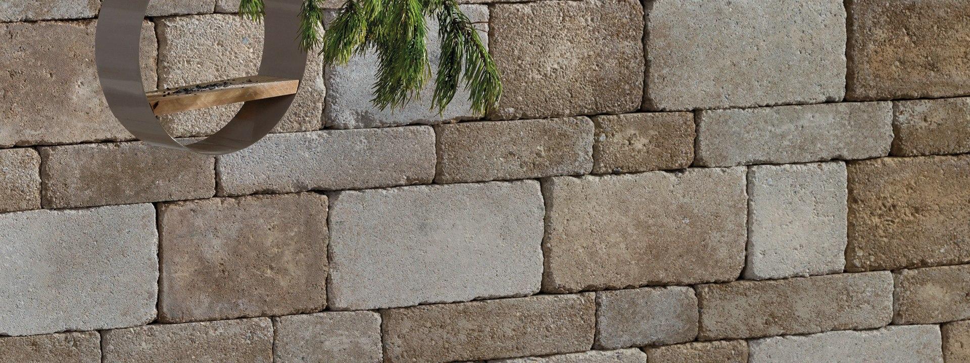 Gartenmauerstein GARDALINE von GODELMANN
