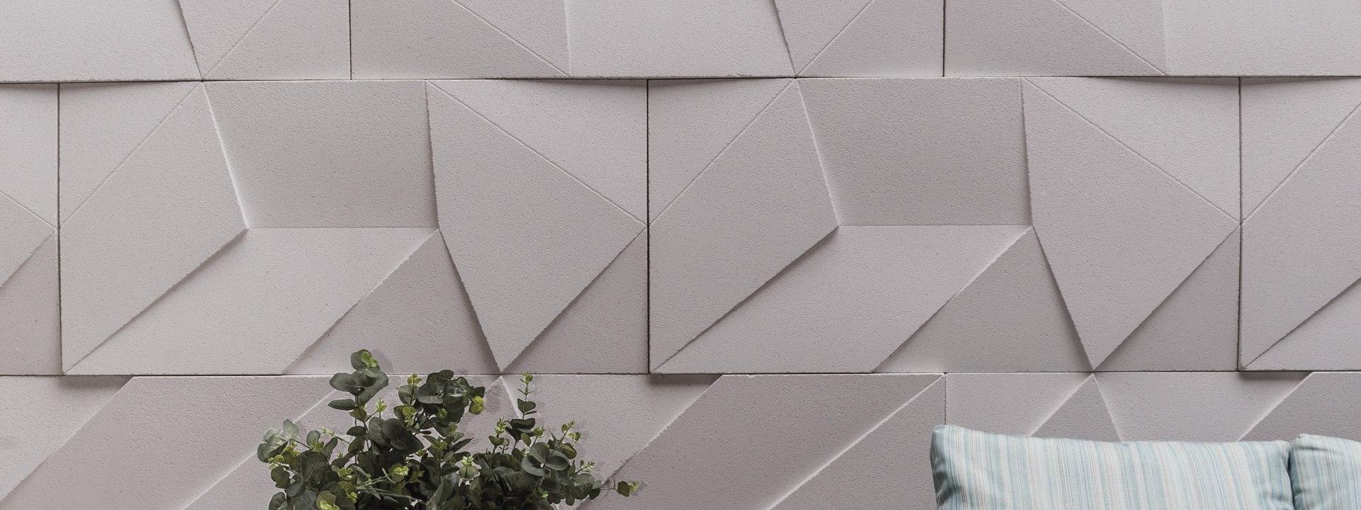 Wandfliese SCALENO aus Beton - Achitekturbeton von GODELMANN