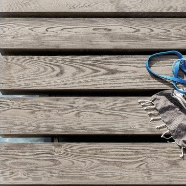 Terrassenplatte MASSIMO Diele in Holzoptik von GODELMANN. Terrassendie
