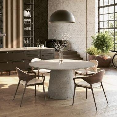 Möbel Tisch aus Beton Architekturbeton