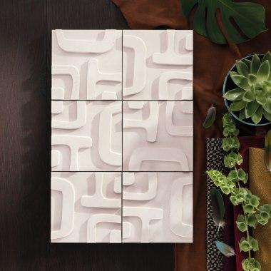 Wandfliese TRIBU Wandelement aus Architekturbeton von GODELMANN